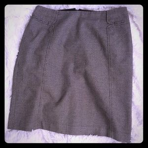 Banana Republic Professional Grey Pencil Skirt